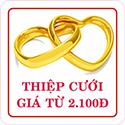 Mẫu Thiệp cưới giá rẻ